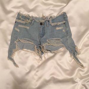 Unify denim shorts (25)